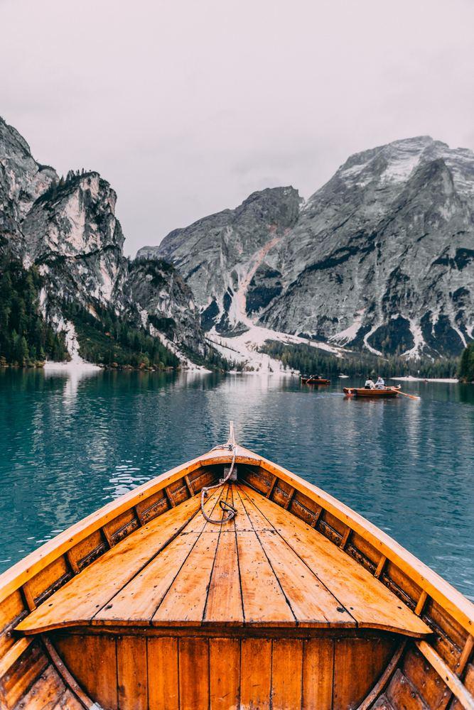 Sjøsetting av båt i Norge